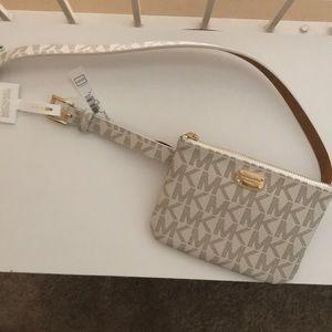 Michael Kors bag and belt